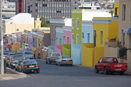 محله بو-کاپ شهر کیپتاون