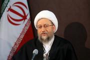 آیتالله آملیلاریجانی: جمهوری اسلامی در برابر کار وقیحانه دولت آمریکا ساکت نمیماند