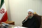 روحانی در تماس تلفنی با مکرون: سپاه جلوی داعش در ۲ کشور سد بست
