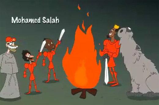 فیلم | از محمد صلاح تا گواردیولا در انیمیشن لیگ قهرمانان