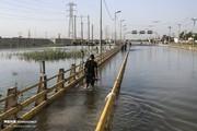 تصاویر   سیلاب پشت دروازههای اهواز