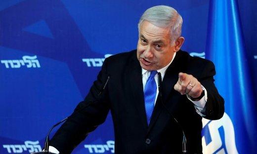 نتانیاهو در حال تنظیم سند جدید