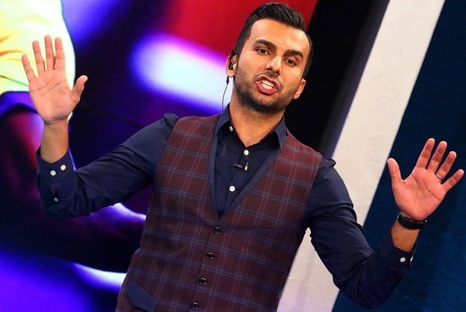 فیلم | حمله بیسابقه محمدحسین میثاقی به گزارشگر فوتبال تبریز!