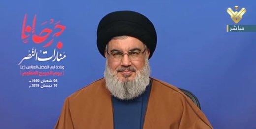 دبیرکل حزبالله: آمریکا خود تروریسم است