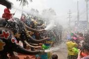 تصاویر | فستیوال آب سونگکران در تایلند