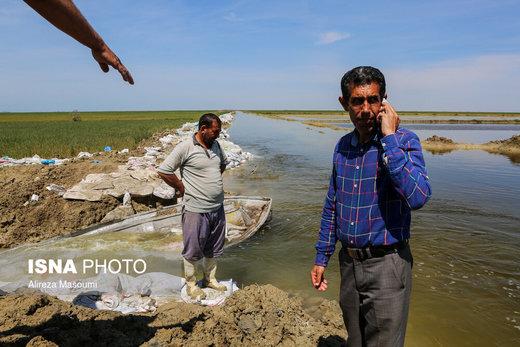 بیست و سومین روز سیل استان گلستان