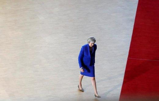 ترزا می، نخستوزیر بریتانیا، به نشست فوقالعاده سران اتحادیه اروپا در شهر بروکسل بلژیک، برای بحث در مورد برگزیت میرود