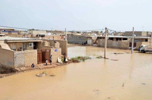 ۲۵۰ روستا در خوزستان زیر آب هستند/ ورود آب به اهواز منتفی است