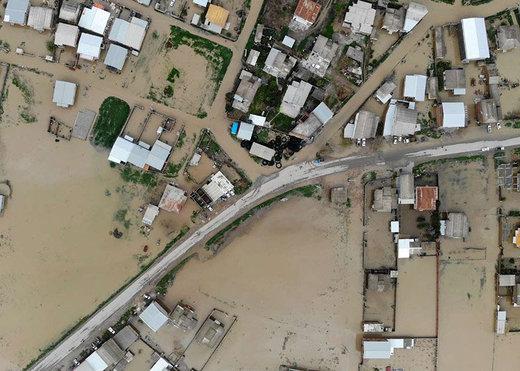 هشدار احتمال وقوع سیلاب در گلستان/ بارندگیها ادامه دارد