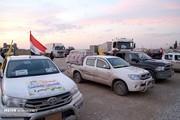 تصاویر   کاروان امدادی عراق در مناطق سیلزده ایران