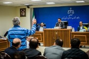 تصاویر | چهارمین جلسه محاکمه متهمان پرونده پتروشیمی