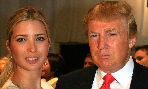 ترامپ:دخترم ذاتاً یک دیپلمات است