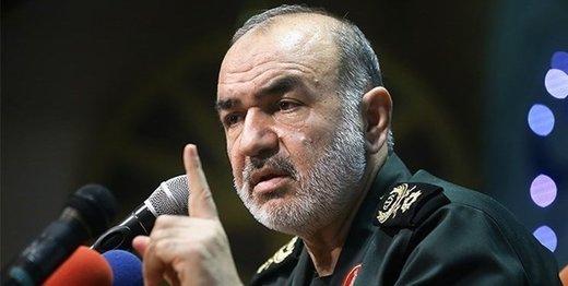 پیام فرمانده سپاه به مجلس: دشمنان را تا قبرستان تاریخ بدرقه میکنیم