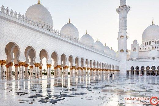 ۱۰ مسجد زیبا و خیرهکننده جهان را ببینید! + تصاویر