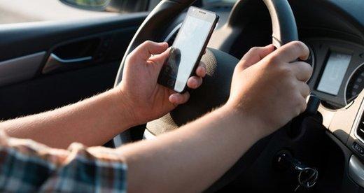 اعلام رقم جریمه استفاده از تلفن همراه حین رانندگی