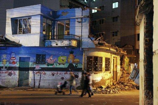 تخریب خانه کودکی ابتهاج در رشت