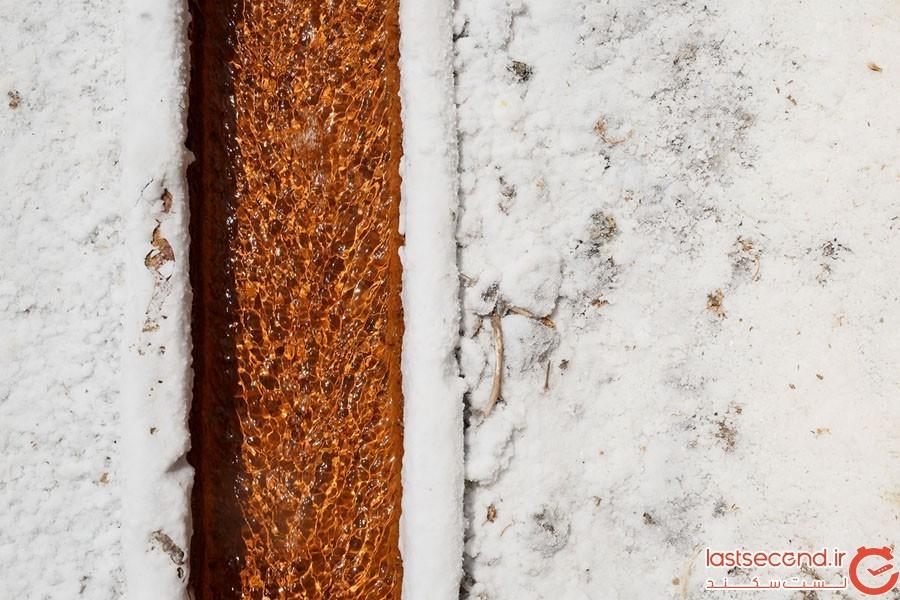 زیبایی خیره کننده معادن نمک در جهان