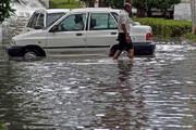 فیلم | باران شدیدی که در هرمزگان سیل راه انداخت
