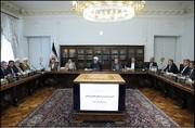روحاني يؤكد ضرورة تعزيز التعاون بين السلطات الثلاث لمساعدة المنكوبين بالسيول