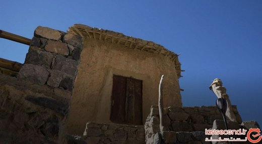 روستایی پنهان در پس صخرهها در عمان