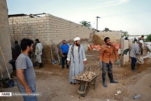 ساخت سیلبند در سوسنگرد و حمیدیه