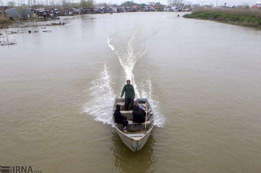 بازگشت آب به تالاب بینالمللی انزلی