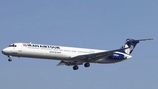 Iranian airplane makes emergency landing at Mehrabad Airport