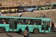 سرویسدهی شرکت واحد تبریز به تماشاگران دیدار تراکتورسازی-پیکان