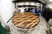 بزرگترین تارت دنیا در ناپل پخته شد
