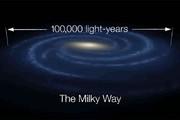 فیلم | طول کهکشان راه شیری ۹۴۰۰۰۰ تریلیون کیلومتر است!