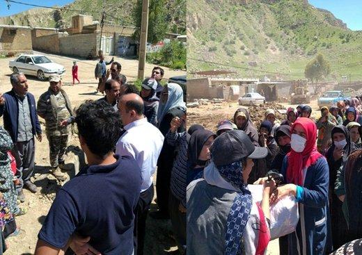 کمکهای فدراسیون کارگری بین مناطق سیلزده لرستان توزیع شد