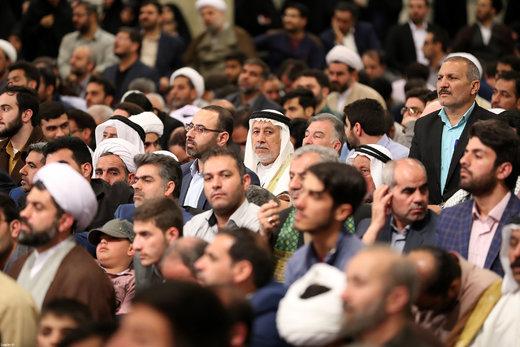 دیدار شرکت کنندگان مسابقات بینالمللی قرآن با رهبر انقلاب