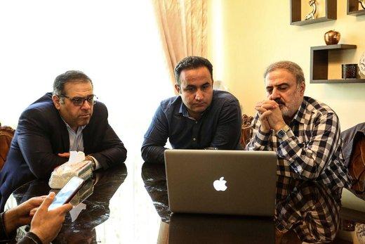 تصاویر جدید از پشت صحنه سریال ماه رمضان شبکه دو