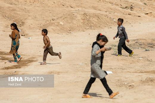 کودکان سیلزده حمیدیه