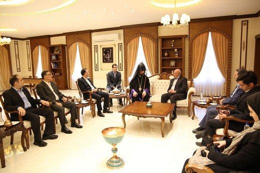 پیشنهاد استاندار اصفهان به اسقف اعظم ارامنه برای نحوه کمک به سیلزدگان