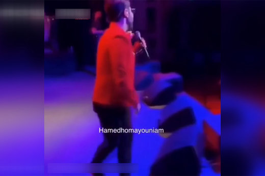 کنسرت حامد همایون,بهروز وثوقی در کنسرت حامد همایون,بازیگران سینما و تلویزیون ایران, موسیقی پاپ