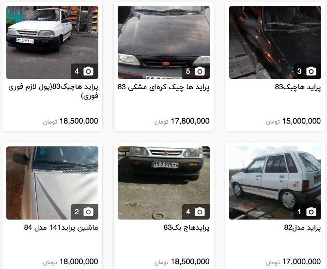 تاخت و تاز دستدومها در بازار خودرو +قیمت