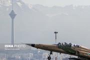تصاویر | تمرین جنگندههای ارتش برای یک نمایش ملی
