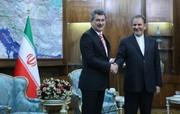 طرح ۲ موضوع مهم در دیدار جهانگیری با سفیر جدید ترکیه در تهران