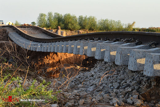 وضعیت سیلزدگان در بامدژ