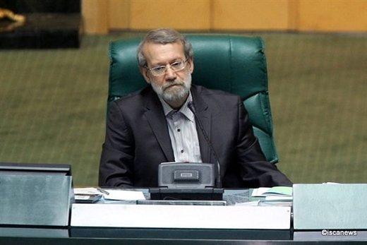لاریجانی: مجلس پای امنیت ملی و منافع ملی یکصداست