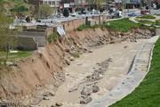 تصاویر | نتیجه ساختوساز در حریم رودخانه!