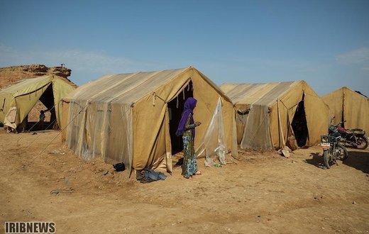 سکونت سیلزدگان در زاغه مهمات جنگ حمیدیه