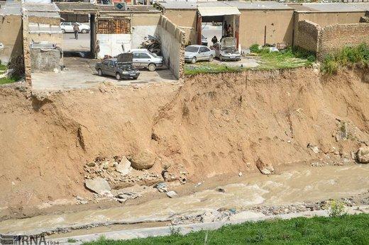 ساخت و ساز در حریم رودخانههای خرمآباد