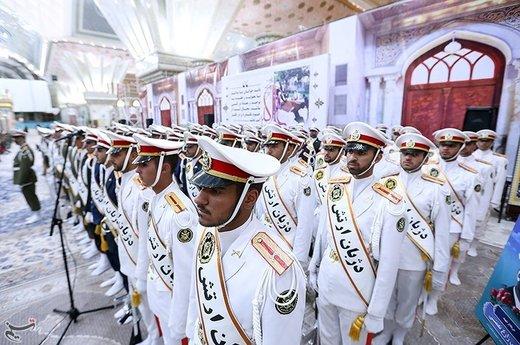 تجدید پیمان فرماندهان ارتش با آرمانهای امام خمینی (ره)