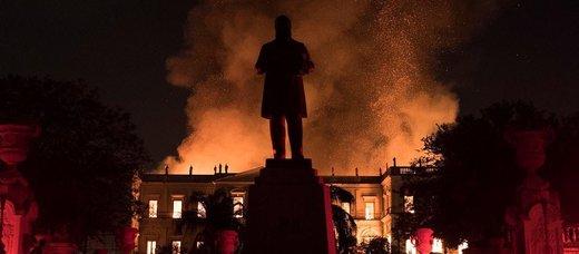 مهمترین آثار تاریخی جهان که در آتش سوختند