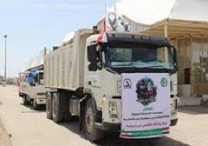 ورود کمکهای بشردوستانه عراقیها و حشدالشعبی به ایران