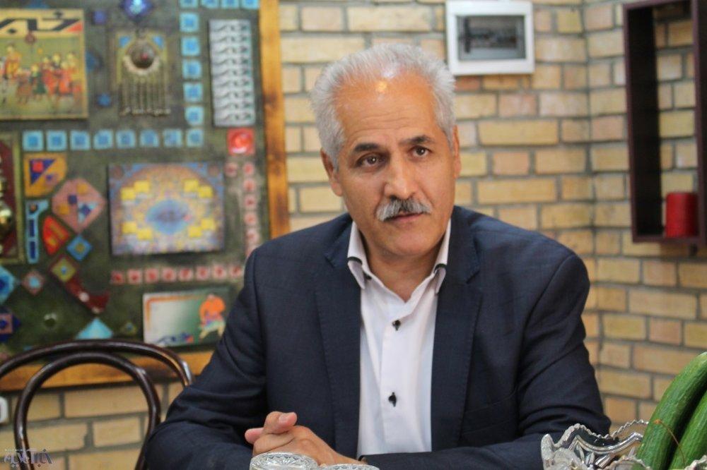 ابراهیم محمد ولی رییس اتحادیه طلا و جواهر تهران
