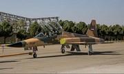 عبور جنگنده بمبافکنهای ایرانی «صاعقه» و «کوثر» از فراز جایگاه رژه ارتش