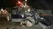 برخورد شدید ایسوزو با پیکاب در خرمآباد ۲ کشته بر جای گذاشت